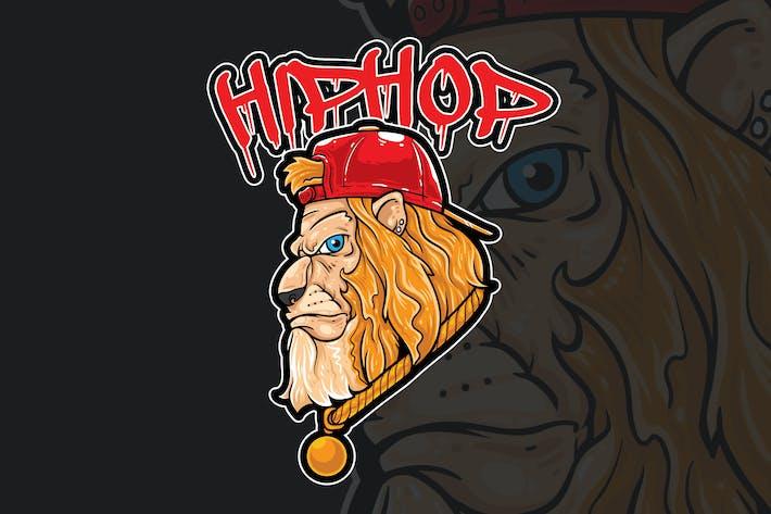 Thumbnail for Гип-хоп Лев Вектор иллюстрация