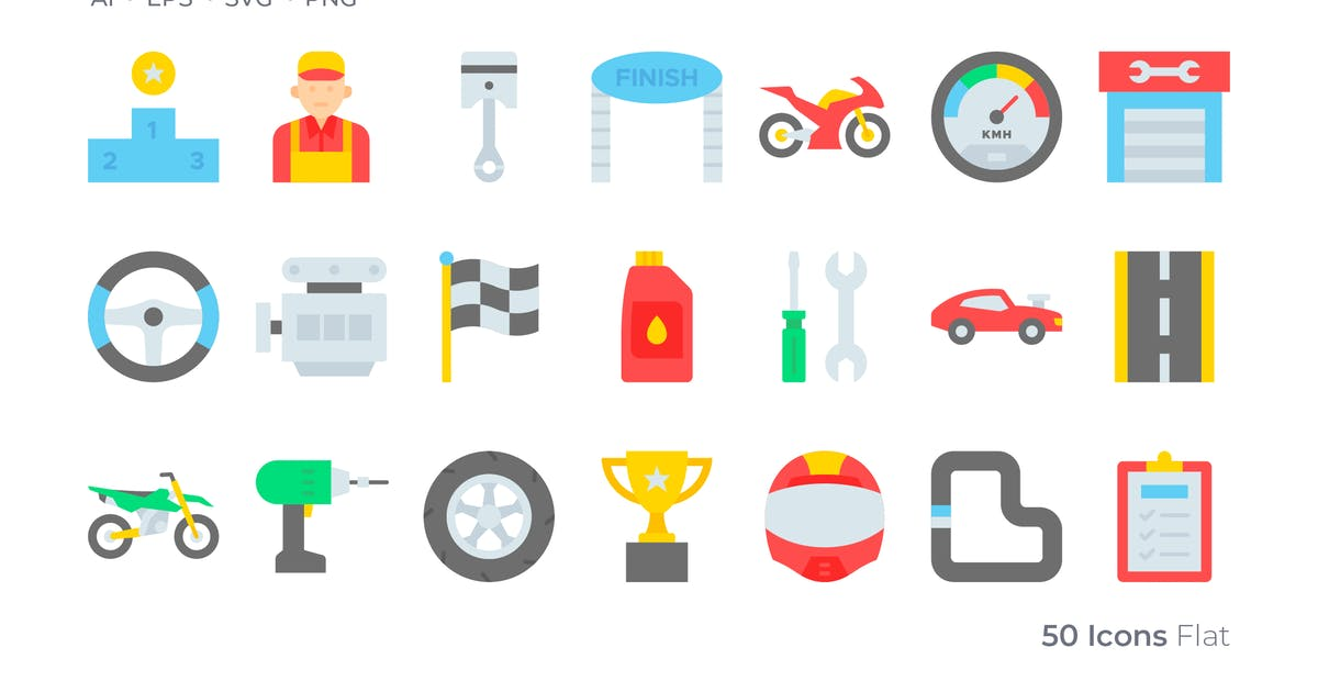 Download Race Color Icon by GoodWare_Std