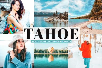 Tahoe Mobile & Desktop Lightroom Presets