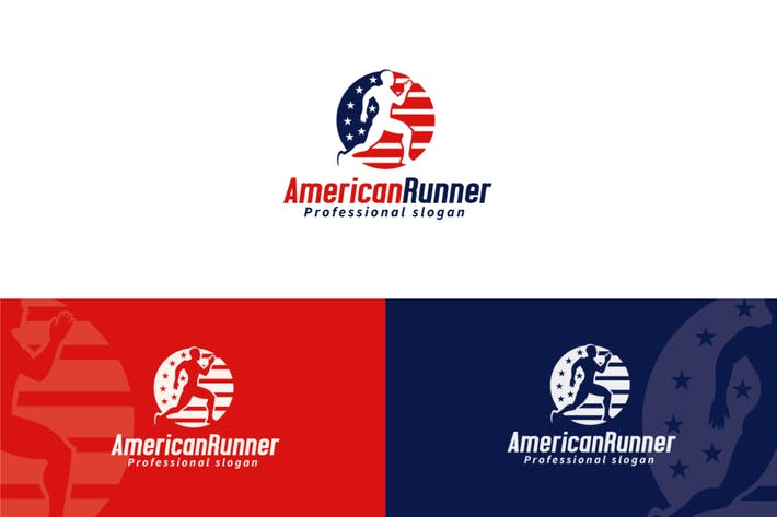 Cover Image For American Runner Logo