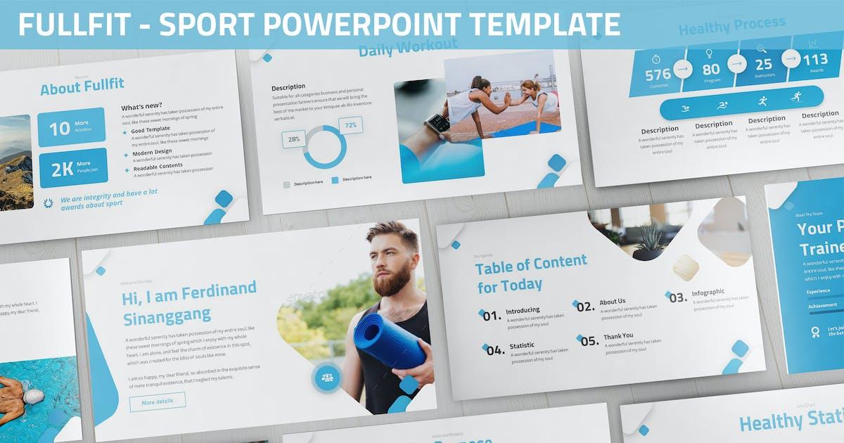 Download Fullfit - Sport Powerpoint Template by SlideFactory