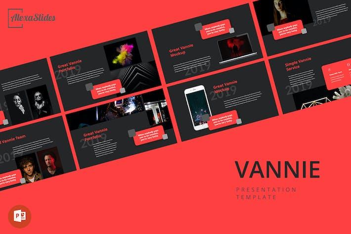 Thumbnail for Vannie - Творческий Powerpoint Шаблон