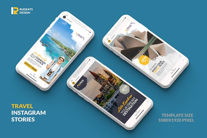Travel R1 Instagram Story Template