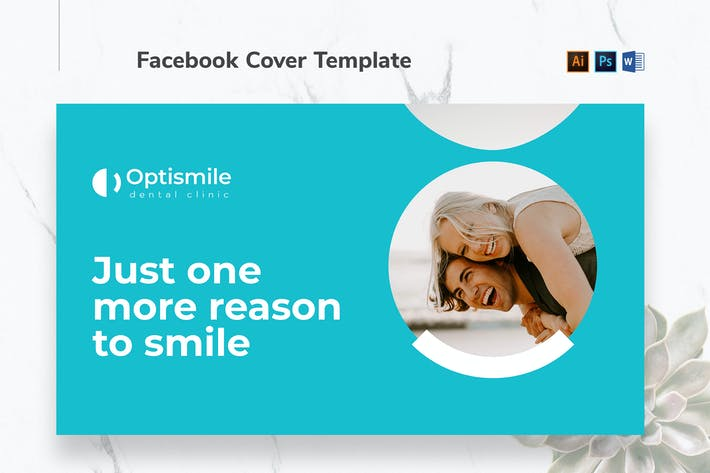 Thumbnail for Dental Clinic Facebook Cover