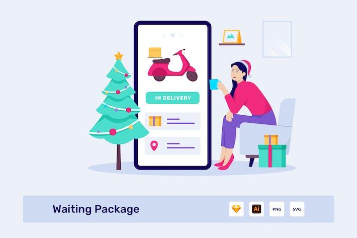 Thumbnail for Illustration Vecteur du paquet