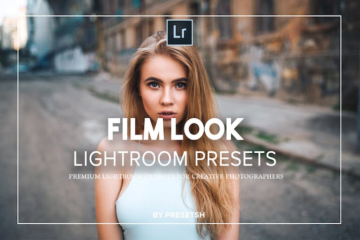 Thumbnail for Film Look lightroom presets