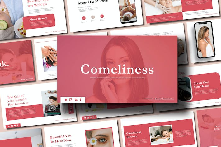 Thumbnail for COMELINESS  - SPA Keynote Template