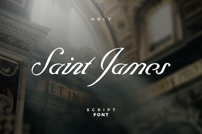Thumbnail for Saint James Script Font