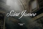 Saint James Script Font