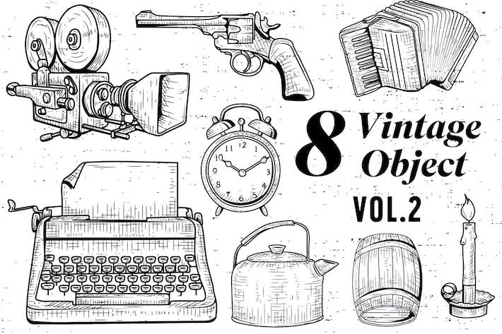 Thumbnail for 8 Vintage Object - Vol.2
