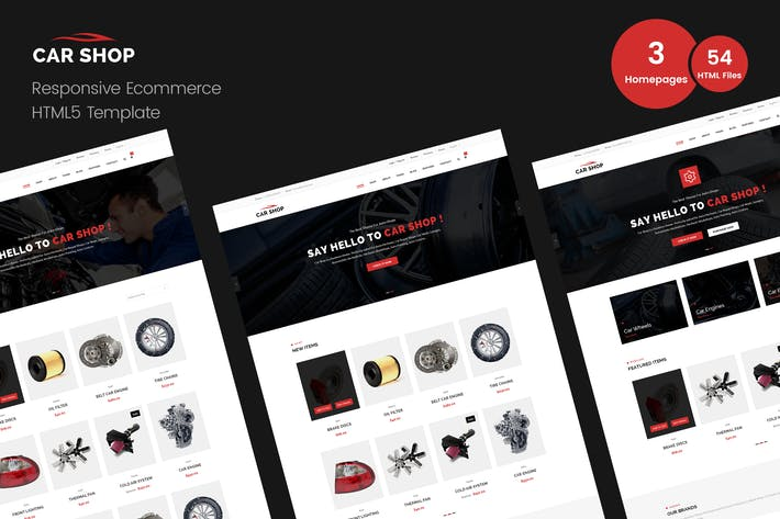 Thumbnail for Car Shop - Ecommerce HTML Template