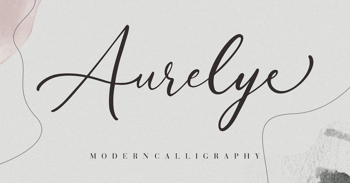 Download Aurelye Modern Calligraphy by RahardiCreative