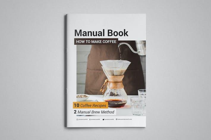 Kaffee-Rezepte-Vorlage