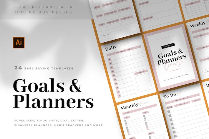 Thumbnail for To-Do Lists & Planners Bundle