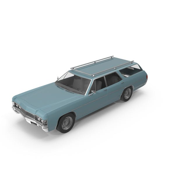 Cover Image for Vintage Station Wagon