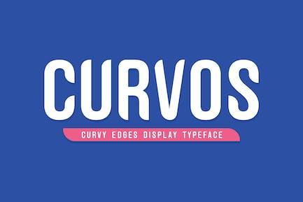 Curvos Afficher la police de caractères + Badge