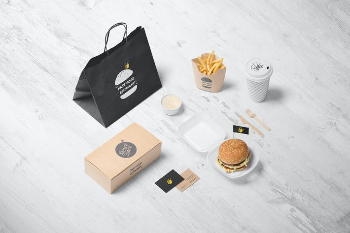 Cover Image For Burger Store Mockup Creator