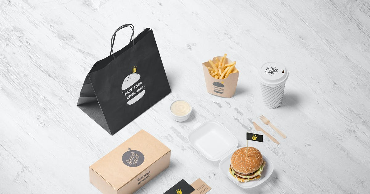 Download Burger Store Mockup Creator by Genetic96