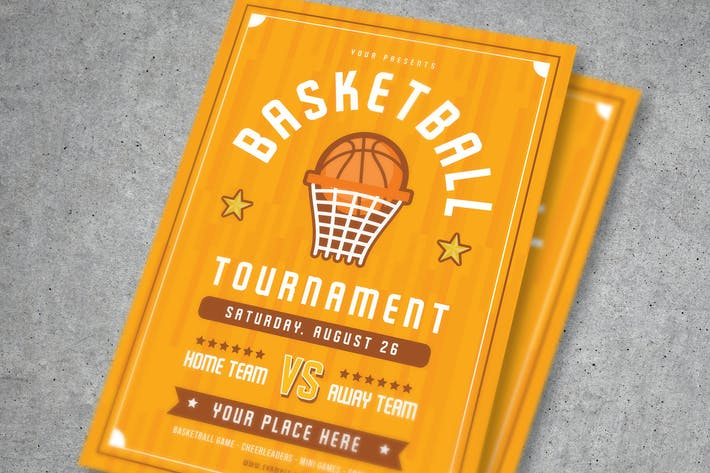 Cover Image For Basketball Tournament Flyer