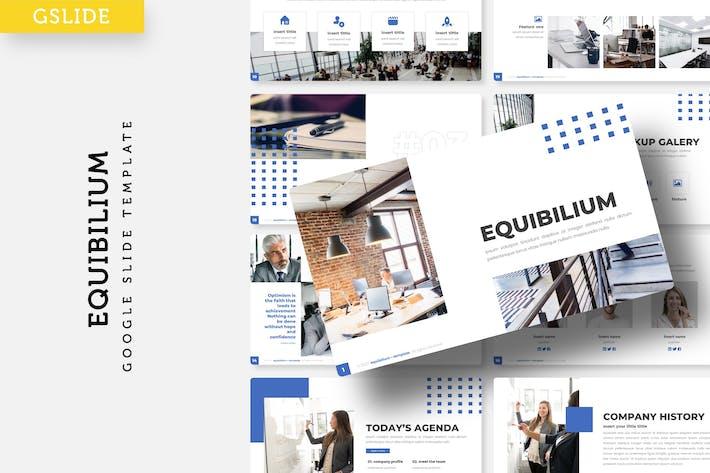 Thumbnail for Equibilium - Google FolienVorlage