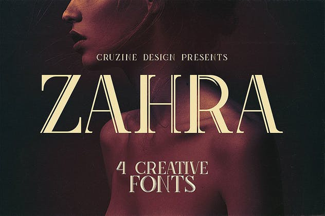 Zahra Typeface - product preview 5