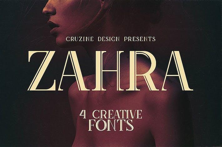 Thumbnail for Zahra Typeface