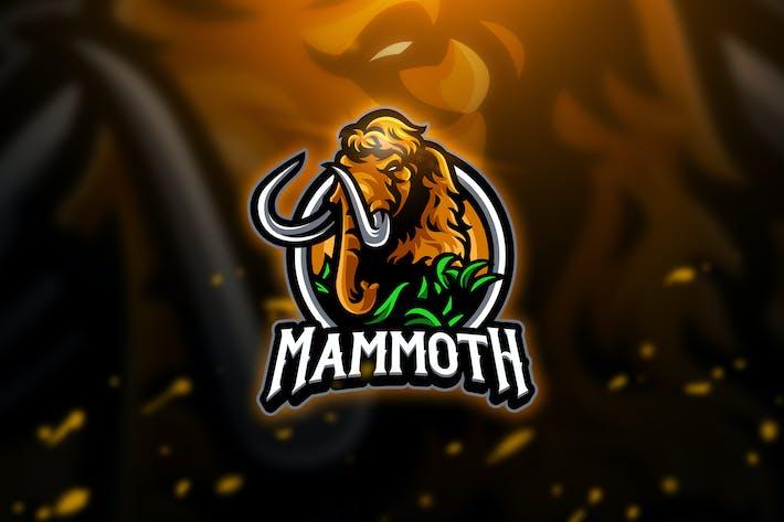 Thumbnail for Mammoth 3 - Mascot & Esport Logo