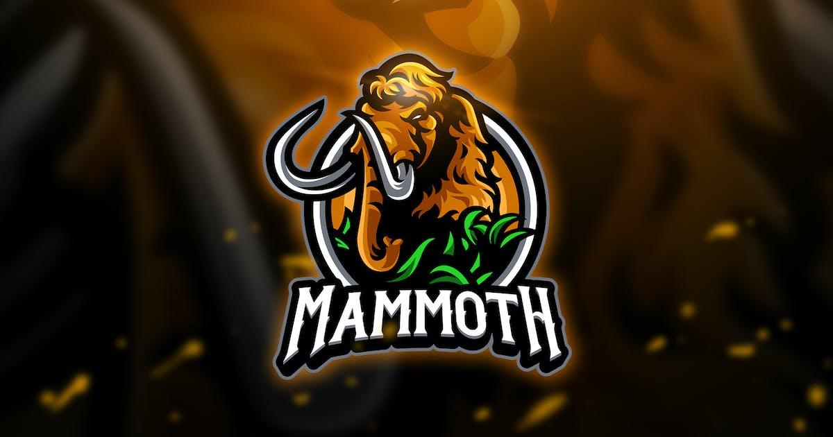 Download Mammoth 3 - Mascot & Esport Logo by aqrstudio
