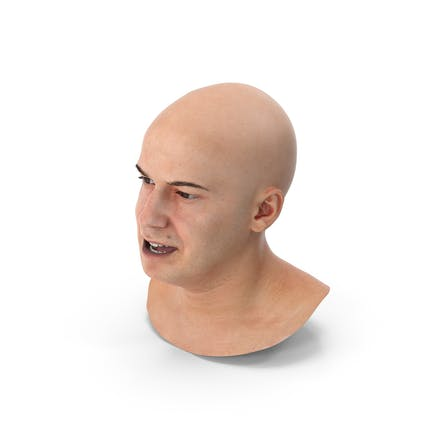 Marcus Human Head Lippen-Eckenabzie