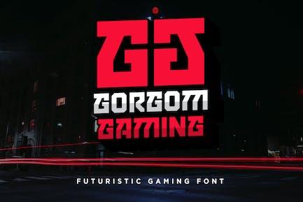 Gorgom - Fuente de juego futurista
