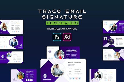 Traco | Email Signature Template