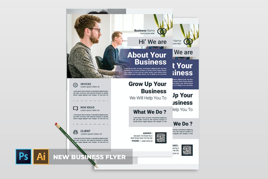 New Business | Flyer - product preview 0