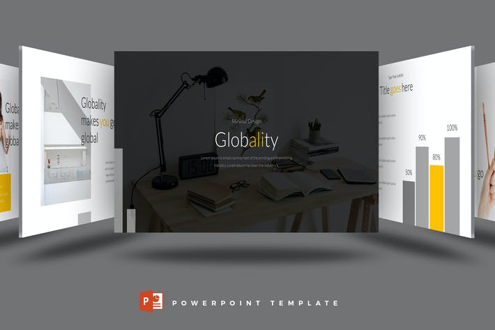 Thumbnail for Globality - Powerpoint Template