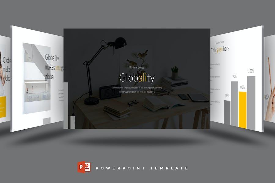 Globality - Powerpoint-Vorlage
