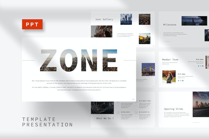 Thumbnail for Zone - Building Powerpoint Template