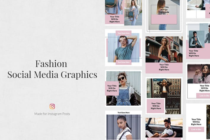Thumbnail for Fashion Instagram Posts