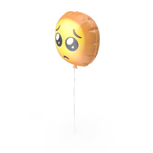 Crying Sad Emoji Balloon