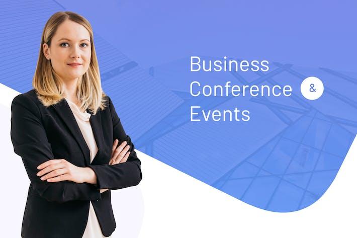 Thumbnail for Vorlage für Geschäftskonferenzen Keynote Veranstaltungen