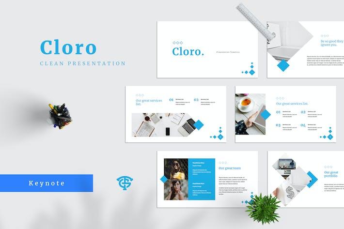 Thumbnail for Cloro - Keynote