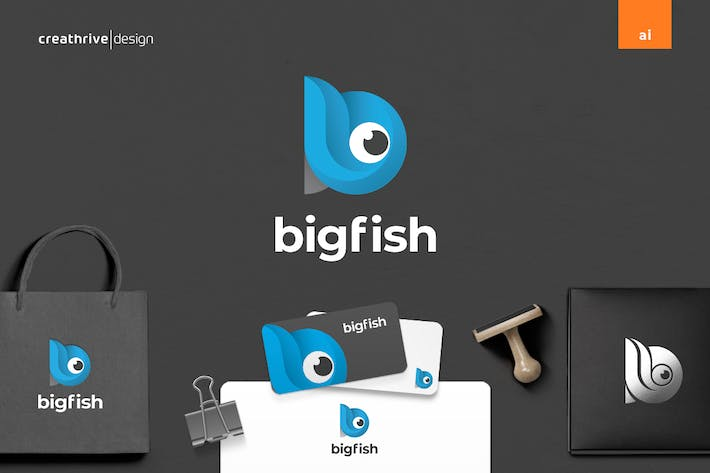 Thumbnail for Big Fish Logo
