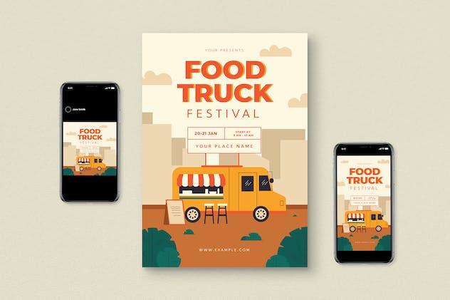 Food Truck Flyer Pack