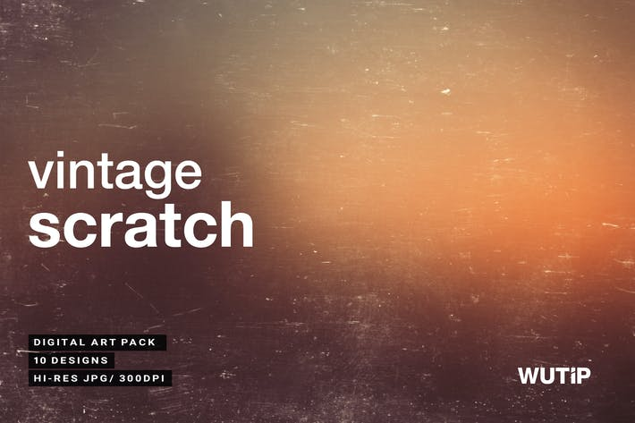 Vintage Scratch Hintergründe