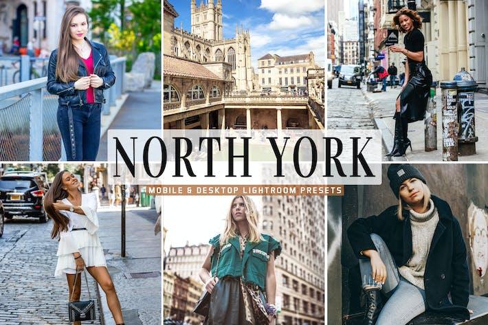 Thumbnail for North York Mobile & Desktop Lightroom Presets