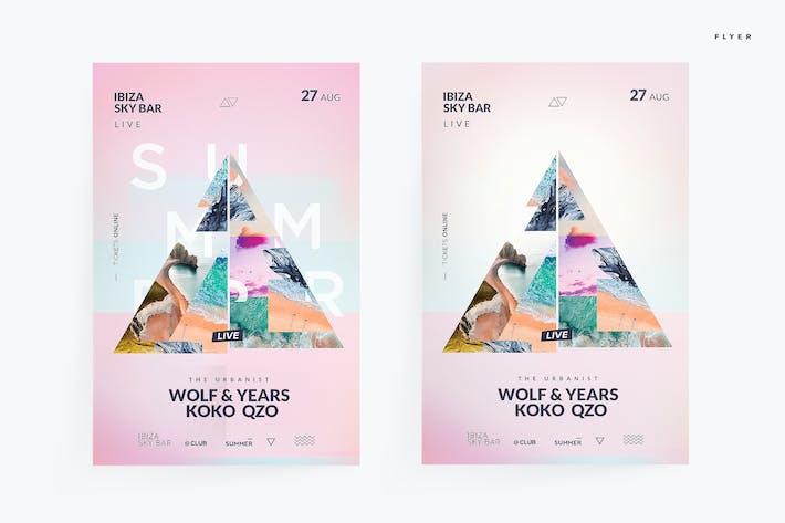 Thumbnail for Modern Summer Flyer