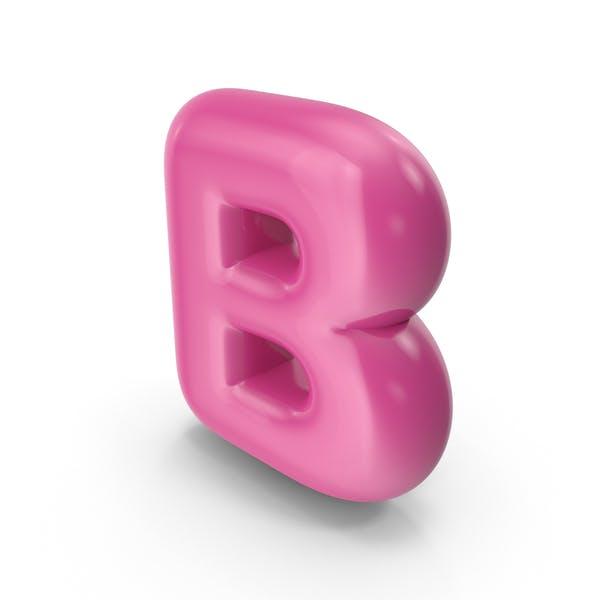 Thumbnail for Toon Balloon Letter B