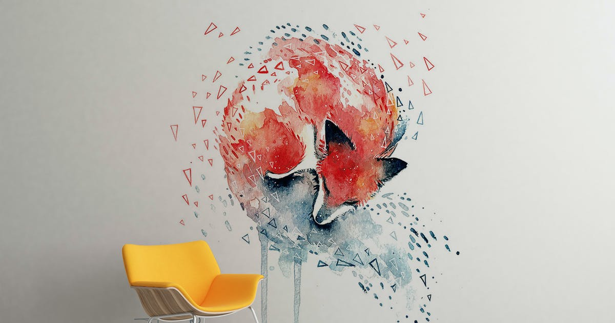 Download Art Wall Mock-up Vol.1 by Wutip