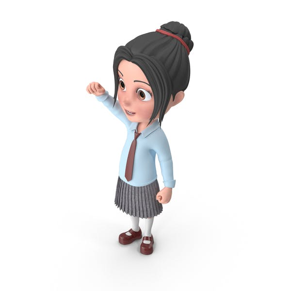 Cover Image for Cartoon Girl Emma Cheering