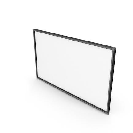 Schwarzer Rahmen Querformat