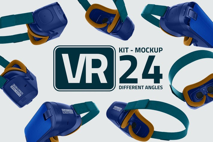 Thumbnail for VR Kit Mockup