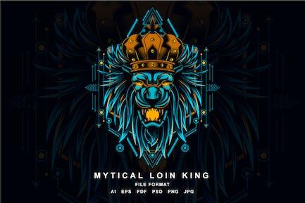 Mythischer König der Löwen
